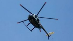 Helicops use Twitter to tackle complaints of noise nuisance