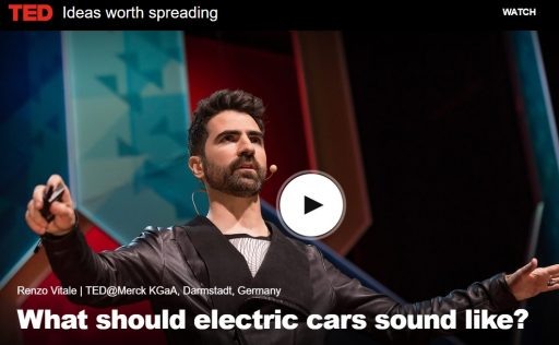 What should be the sound of electric cars ?