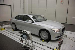 Semi anechoic room FAIST BMW