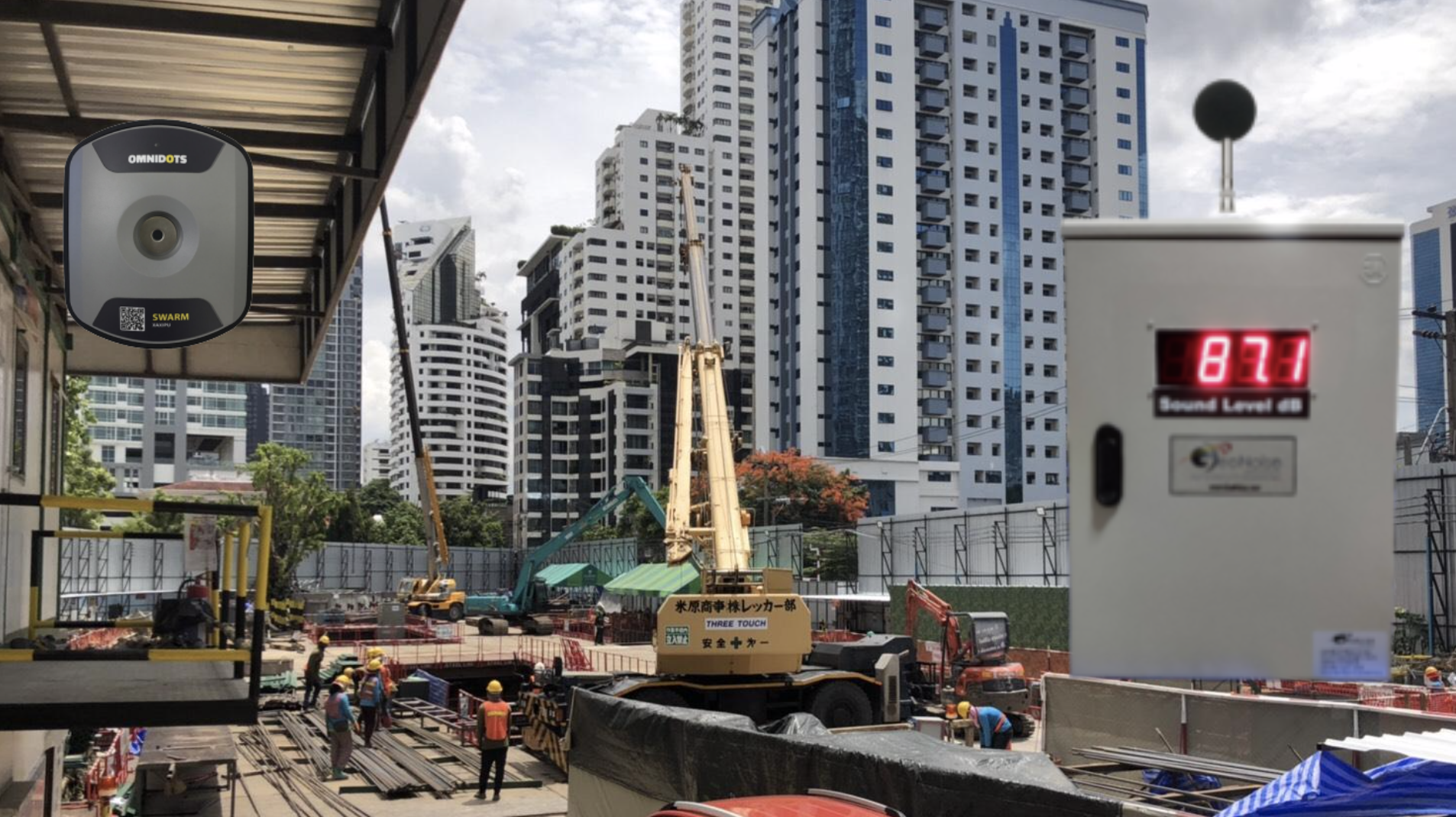 Noise and Vibration Monitoring for Construction Sites