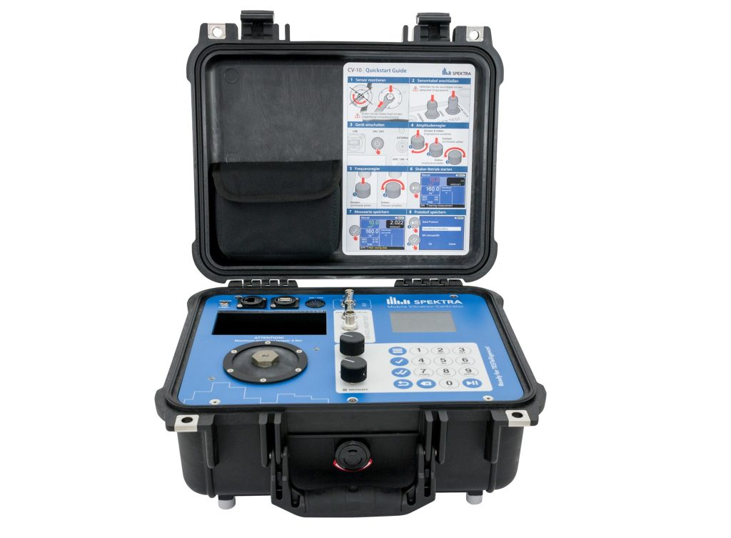 SPEKTRA CV 10 mobile vibration calibrator